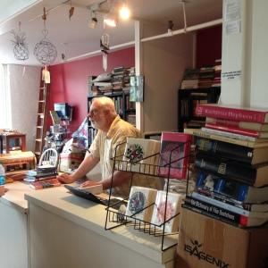 Bob at Dickens Books