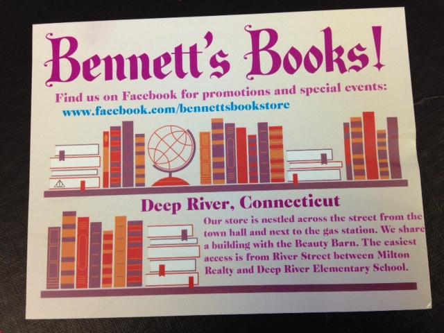 Bennett's Books, Deep River CT (1/2)
