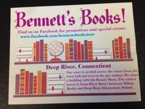 Bennett's Books postcard