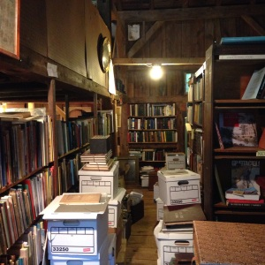 Inside the Colebrook Book Barn
