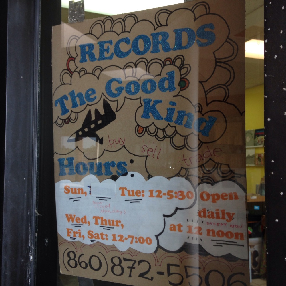 Records, The Good Kind - Vernon CT (3/4)